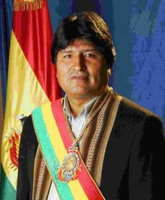 Juan Evo Morales Ayma, popularly known as Evo, is a Bolivian politician and cocalero activist who has served as President of Bolivia since 2006. Widely regarded as the country's first president to come from the indigenous population, his administration has focused on the implementation of leftist policies, poverty reduction, and combating the influence of the United States and multinational corporations in the Plurinational State of Bolivia. Born: Oct 26, 1959 (age 55)  Orinoca Canton…