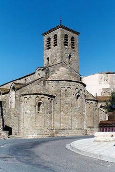 Église Saint-Martin d'Escales en Languedoc-Rousillon.