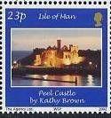 Sello: Peel Castle (Isla de Man) (Photography Winners) Mi:IM 1002,Yt:IM 1041