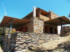The traditional stone villa