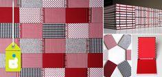 Quarenta caderninhos com costura japonesa no tamanho 10 X 15 cm, com capa em tecidos variados e miolo em Reciclato® – encomenda especial para o primeiro aninho da Joaninha!
