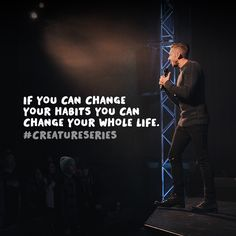 Fresh Life is a multi-site church led by Pastor Levi and Jennie Lusko. Habit Quotes, Truth Quotes, Jesus Quotes, Me Quotes, Creature Of Habit, Gods Promises, Real Man, True Words, Trust God
