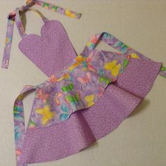 Hey, I found this really awesome Etsy listing at https://www.etsy.com/listing/261015097/toddler-apron-handmade-purple-hearts