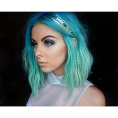54 Crazy Pastel Hair Color Ideas For Unique Hairstyles – Beauty Tips 54 Crazy Pastel Haarfarbe Ideen Blue Green Hair, Purple Hair, Turquoise Hair, Violet Hair, Bright Hair, Pastel Hair, Neon Hair, Colorful Hair, Pelo Multicolor