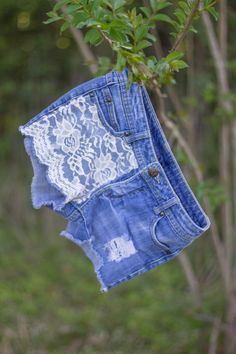 Hey, I found this really awesome Etsy listing at https://www.etsy.com/listing/150280715/lace-panel-shorts