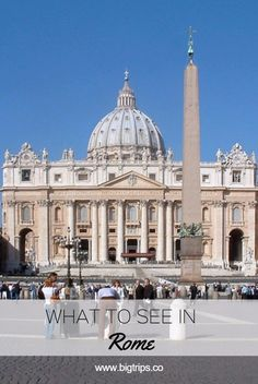 Basilica di San Pietro. What to see in Rome, Italy. All places on the map.  #rome #italy #travel