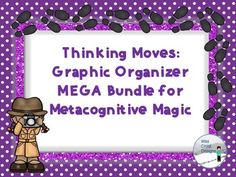 This GROWING MEGA BUNDLE is inspired by Making Thinking Visible by Ritchart, Church, and Morrison. I will be adding SEVERAL more strategies to this bundle so grab it NOW while the price is right! Then, follow my store to receive messages when this bundle has been updated!