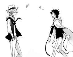 Mikuni & Tsurugi || Servamp
