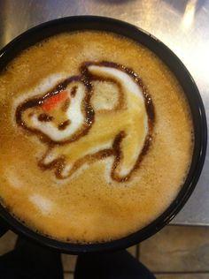 Simba Latte Art