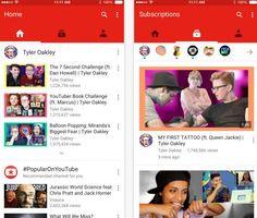 YouTube para iOS recebe atualização para o Material Design