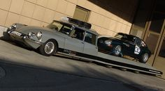 Citroen DS transporter