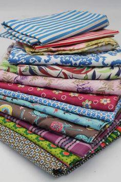 feed sack prints & vintage print cotton fabric
