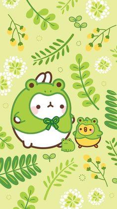 Chibi Kawaii, Kawaii Doodles, Kawaii Art, Sanrio Wallpaper, Kawaii Wallpaper, Iphone Wallpaper, Kawaii Drawings, Cute Drawings, Animal Drawings