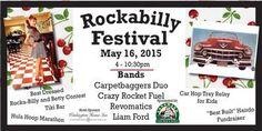 Rockability Festival: Concert in Cedarburg, Wisconsin