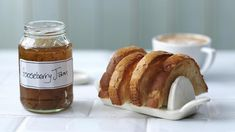 Make the most of summer gooseberries by making this delicious jam. For added summer flavour add a few tablespoons of elderflower cordial. Gooseberry Jam, Gooseberry Recipes, Kraft Recipes, Jam Recipes, Cooking Recipes, Sweet Recipes, Seasonal Food, Bbc Good Food Recipes, Sweets