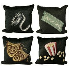 Home theater pillows for my home theater