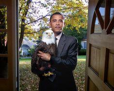 44th President Barack Obama, and the Majestic Bald Eagle, Representatives of the United States of America, Fantastic
