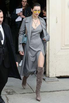 Bella Hadid's best slit dresses