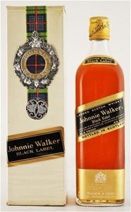 Johnnie Walker `Black Label Medallion ` Scotch Whisky (4/5 quart) Scotland