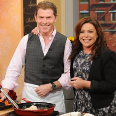 Bobby Flay's Fried Chicken with Tabasco Honey | Rachael Ray Show | Weekdays at 11am | Monday 10/28/2013