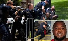 LOUISIANA... Black Panthers protest is slammed by widow of victim   Daily Mail Online