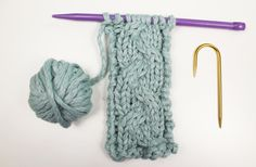 Grab your cable needle and learn a simple technique to add gorgeous, timeless texture to any project with our knit cable braid tutorial and free pattern.
