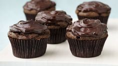 A decadent, wonderful cupcake that satisfies the sweet tooth, and it's an egg-free, dairy-free vegan recipe. The secret for this amazing moistness? Avocados!