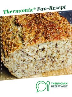 Protein bread - the best! (low carb) from Valeria-ihr-Thermi. A Thermomix ® Reze . - Protein bread – the best! (low carb) from Valeria-ihr-Thermi. A Thermomix ® recipe from the Brea - Protein Bread, Low Carb Protein, Healthy Protein, Protein Foods, Slow Cooker Recipes, Low Carb Recipes, Crockpot Recipes, Best Protein Shakes, Protein Desserts