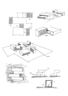 Gallery of Aradas House / RVdM Arquitecto - 26 - Architecture IP - Architektur Conceptual Sketches, Conceptual Architecture, Architecture Concept Drawings, Architecture Graphics, Conceptual Design, Architecture Student, Architecture Portfolio, Architecture Plan, Gothic Architecture