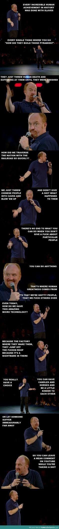 Hes got a point