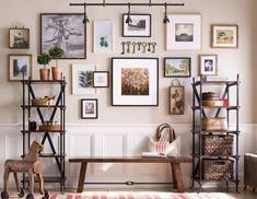 Family photos wall.