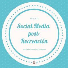 ¿Cómo crear contenido para publicaciones en redes? Diagram, Blog, Socialism, Frases, Social Networks, Create, Blogging