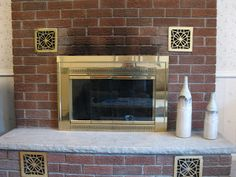 "How To Clean Soot From Fireplace Brick. Use ""scrubbing bubbles"" foaming bathroom cleaner!"