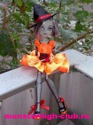 Halloween costume for Monster High. Tutorial.