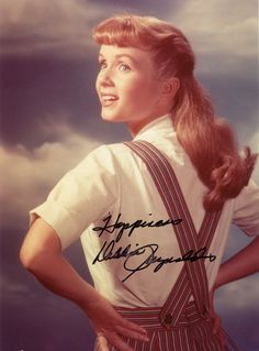 Debbie Reynolds still from Tammy and the Bachelor. I love that movie!!