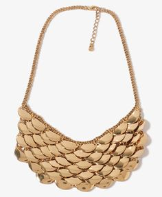 Tiered Bib Necklace | FOREVER21 - 1016098033