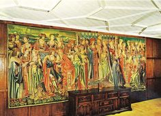 The Hever tapestry of Mary Tudor's marriage to King Louis XII. Hever Castle was the childhood home of Anne Boleyn Uk History, Tudor History, British History, Charles Brandon, Tudor Era, Tudor Style, Louis Xii, Mary Tudor, Medieval Tapestry