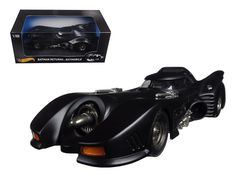 Batman Returns Batmobile 1/18 Diecast Model Car by Hot Wheels #HotWheels #Batmobile