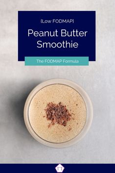 Looking for a quick and easy breakfast on the go? Try this simple low FODMAP peanut butter smoothie! Fodmap Breakfast, Easy Healthy Breakfast, Breakfast For Kids, Healthy Snacks, Breakfast Recipes, Breakfast Ideas, Healthy Kids, Diet Snacks, Eat Breakfast