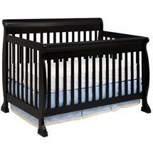 Walmart: DaVinci Kalani 4-in-1 Fixed-Side Convertible Crib with Toddler Rail, Ebony