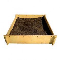 Quadrato in legno per coltivazione orto
