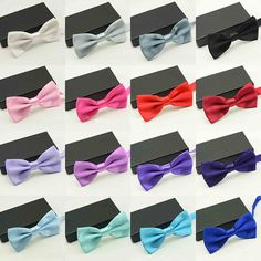 Men s Multi Solid Color Bow Tie - Gogett-hers Gogett-hers Bow Tie Wedding f9f78a965faf