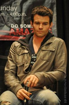 Caught in a moment of thought - Daniel Gillies