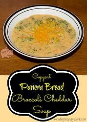 Hunkering down for the extreme cold that will be occurring over the next few days? Make my 'Copycat Panera Bread Broccoli Cheddar Soup' and you'll have this amazing, yummy, and hot soup on hand to warm you up!!