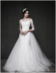 헤브드라마리에 (02-6080-7266) < 드레스 < 웨딩앨범 < 월간웨딩21 웨프