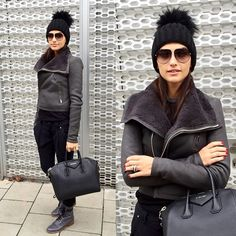 "Boka Bo Lazarevic 👨👩👦👶 (@lutak) ""Love my new #rickowens jacket😍 available in @terezastore 👏👏 #givenchy #bag #chanel #boots #versace…"""