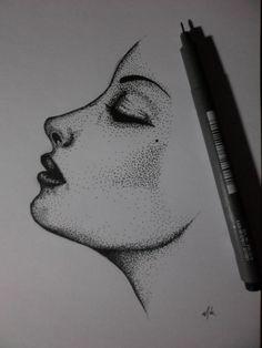 Woman dots
