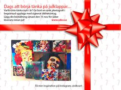 Time to start thinking about Christmas gifts  #xikoart #plexiography #art #christmasgift #julklappstips #konst