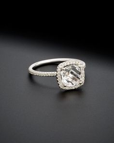 Spotted this Meira T 14K 1.79 ct. tw. Diamond & Topaz Ring on Rue La La. Shop (quickly!).