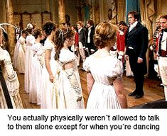 A dance in Pride and Prejudice with KeiraKnightley